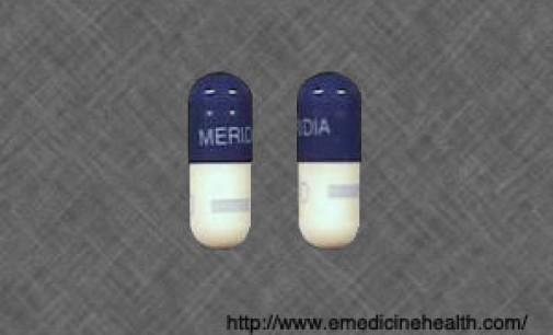 Meridia Recall